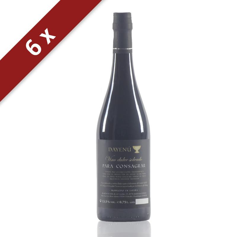 DAYENÚ Vino Dulce Soleado-Vino de Misa-12x0,75L_IMG_3633